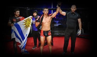 """José """"El Titán"""" Trindade victorioso tras obtener el título Sudamericano de MMA categoría Pluma"""