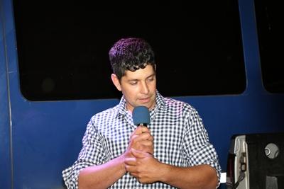 Luis Alberto Souza leyó la proclama