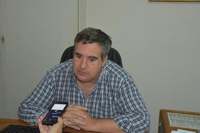 Secretario general de la Intendencia de Salto, licenciado Fabián Bochia