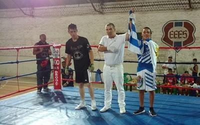 El boxeador salteño Matías Gabrielli ganó su combate  en Brasil.