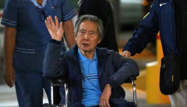 Alberto Fugimori, en libertad cuestionada