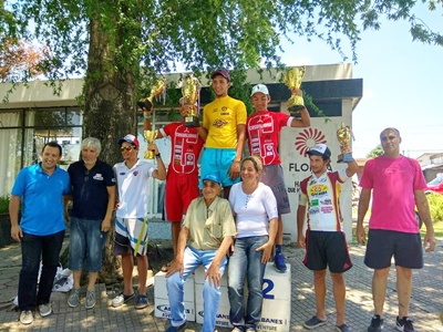 El joven Santiago Pisurnia ganó la Vuelta Ciclista Juvenil de la Amistad