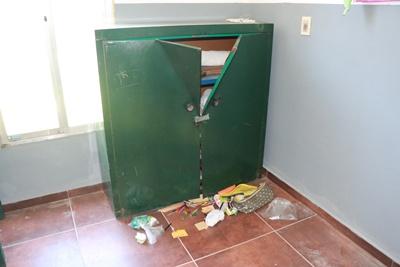 Robo y destrozos dejaron un panorama desolador en la Escuela Especial Nº97