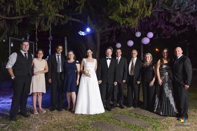 Hugo Núnez Da Rosa y Sra., Daniel Rovelli y Sra., Wanda Aranguren, José Luis Bottaro, Andrés Píriz, Sergio Acuña y Sra., y Néstor Costa y Sra