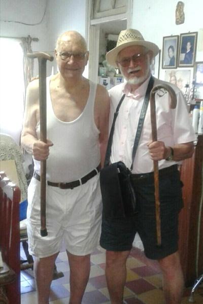 Los mayores, Jean Paul Bidegain y Luis Guarino