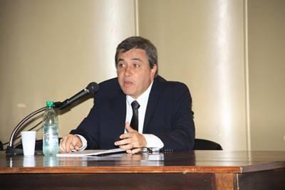 Claudio Paolillo en Salto invitado por Diario EL PUEBLO. Diciembre de 2013