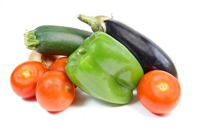 Berenjena y tomate: precio en alta