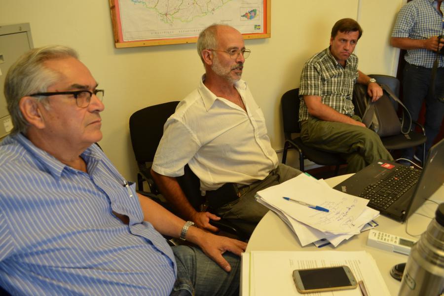 El ministro Enzo Brenech escuchó planteos sobre el tema