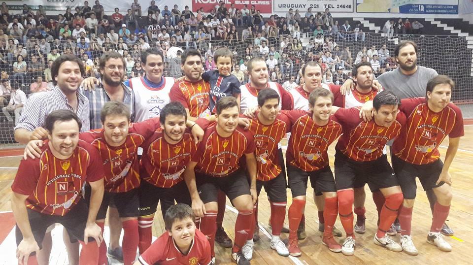 El equipo de Chaná actual campeón Salteño de Futsal se medirá ante Florida  el próximo domingo 4 de febrero