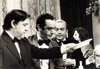 Espalter, D'Angelo, Almada, Henny Trailes y Raymundo Soto en la tv argentina