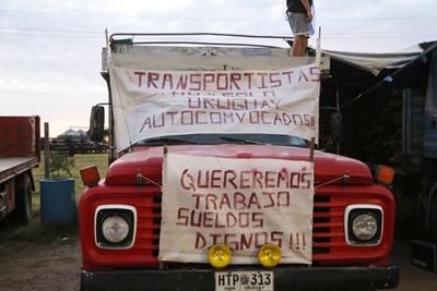 Transportistas locales se reunieron con dirigentes del Partido Nacional