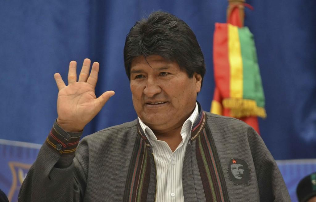 """Evo Morales asegura que EE.UU. """"confiesa sus afanes golpistas"""" en Venezuela"""