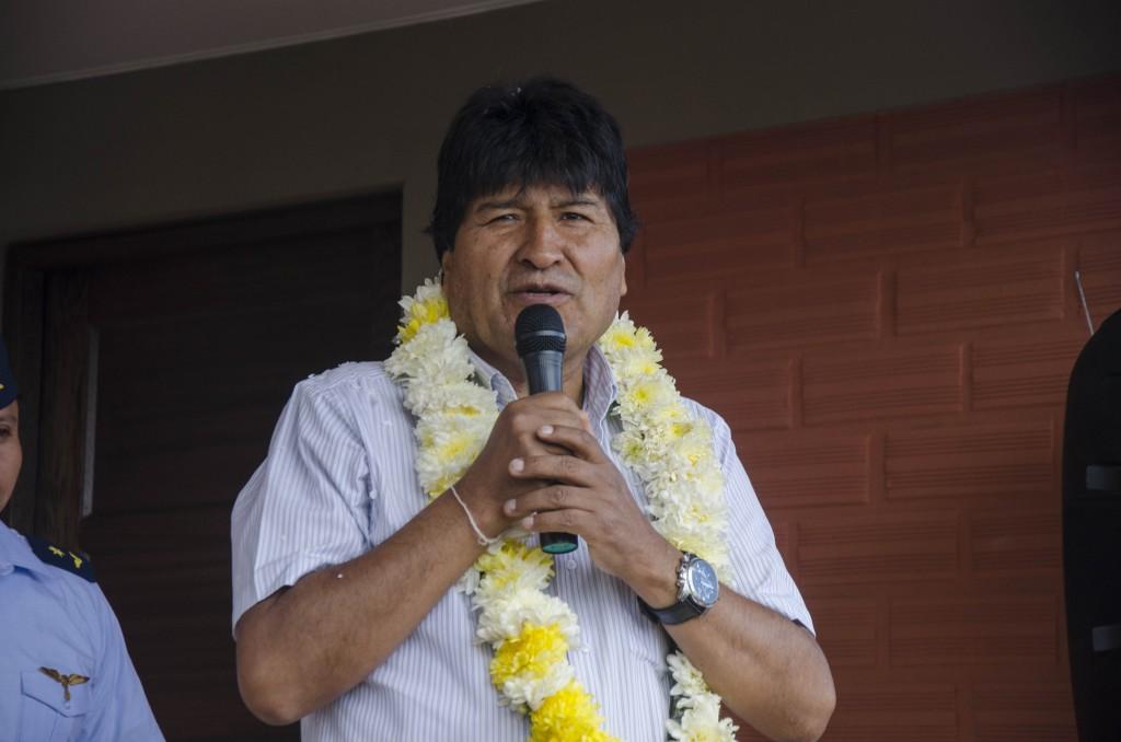 """Evo Morales dice que el canciller chileno """"actúa como agresor"""" de Bolivia"""