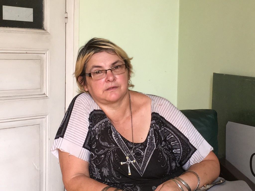 Cristina Ríos en El Pueblo.