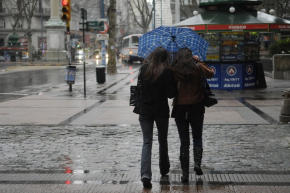 Muy poca fue la lluvia del día anterior. Foto El País