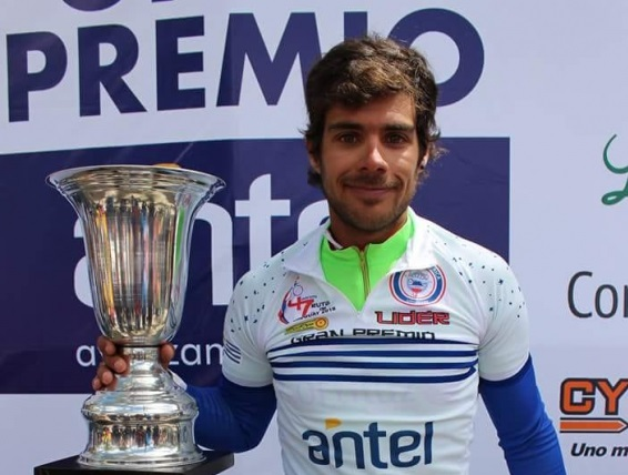 Matías Presa se quedó con las Rutas de América y es candidato para la próxima edición de la Vuelta del Uruguay