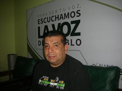 Ernesto Lasiú, Presidente de la Asociación Salteña de Actores del Carnaval (ASAC)