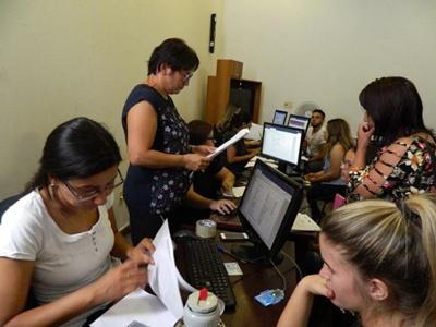 A fuerte ritmo se vienen cumpliendo las inscripciones en el CENUR Litoral Norte sede Salto