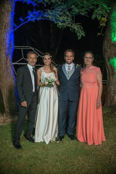 Padres de la novia Miguel Soto y Gloria Gardiol