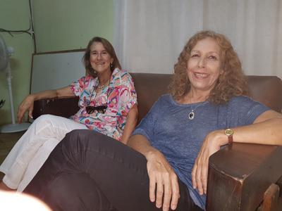 Celia Cocco y Constanza Moreira en EL PUEBLO