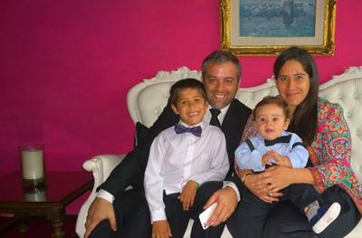 Gabriella y familia