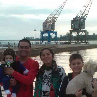 Virginia y su familia