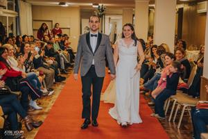 Agustin de Paula y Romina DUFFEY (novios reales)