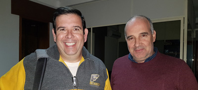 Alfredo Freitas y Nicolas Sant Anna
