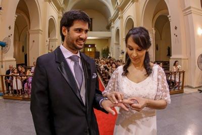 Emiliana Guimaraens Fleitas y Gonzalo Crampet Gutierrez. MARCELO CATTANI