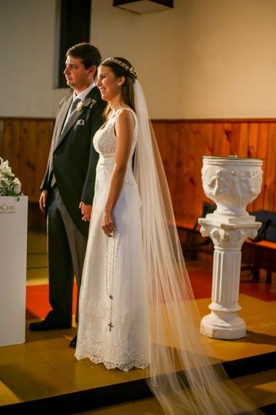 Santiago Duhalde Odera y Valeria Xavier de Mello Bisio. foto MARCELO CATTANI