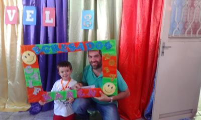 Dr. Varela y su hijo Franco