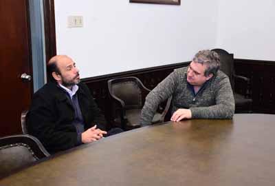 09-08-18 - Marcelo Lira con Secretario