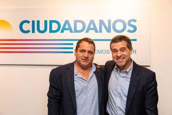 Miguel Feris y Ernesto Talvi