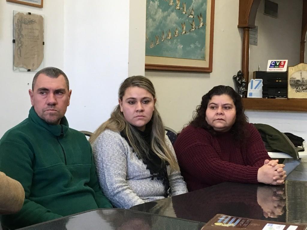 Paciente - Roberto Cardozo junto a su familia