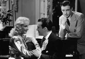 Mirtha Legrand, Roberto Escalada y Pedro Quartucci , Un beso en la nuca, 1946. 4