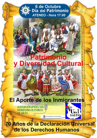 Afiche Inmigrantes Paint