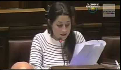 Diputada Manuela Mutti
