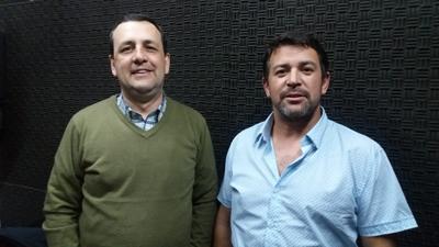 LOCUTORES Luis Enrique Nickleson y Mario Goldmann