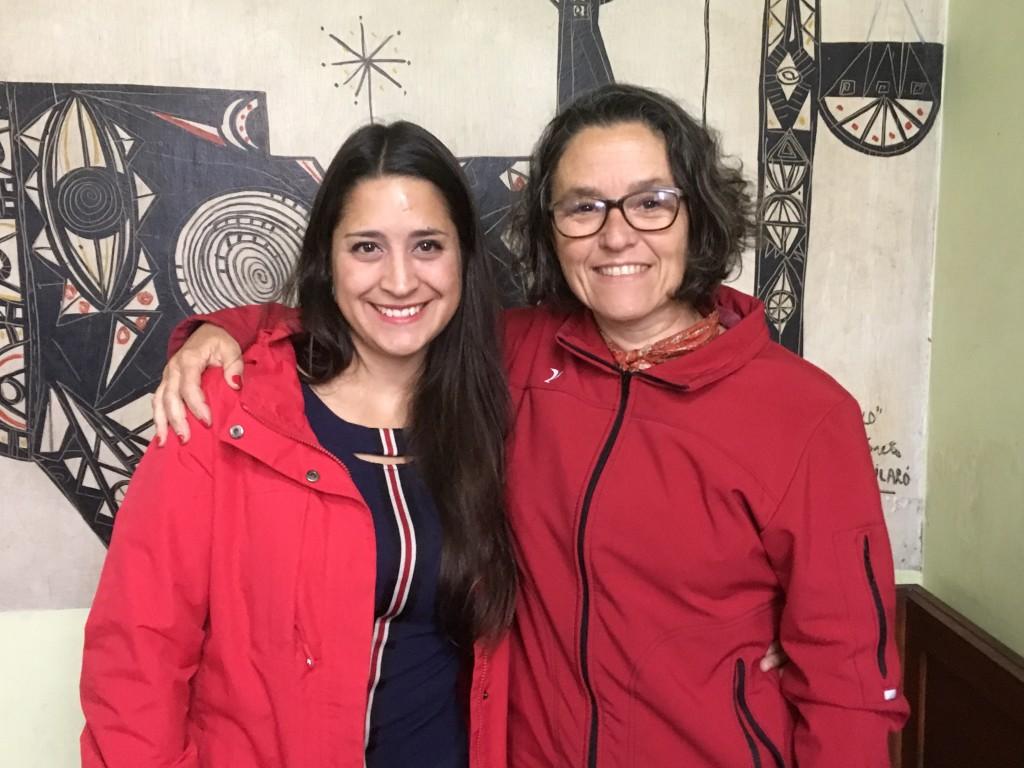 Patricia Ayala y Manuela Mutti en El Pueblo