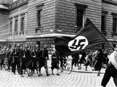 juventud hitleriana en Viena en 1938