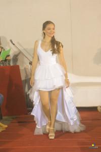 Daiana rodriguez, vestido Santiago Cesio, producción Emiliano Giossa foto Eduardo lagos