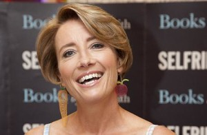 Emma Thompson book signing at Selfridges Oxford Street, London, Britain - 06 Sep 2012