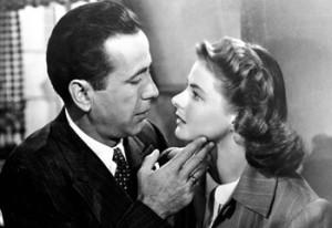 Humphrey bogart e ingrid Bergman, protagonistas del filme. 2