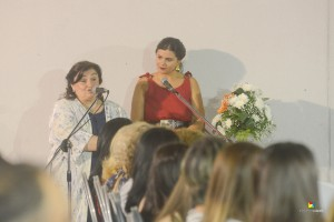 Adriana Martínez y Lucila Márquez