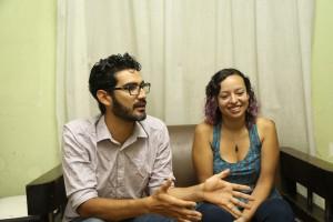 Luis Castillo y Stephania Pimentel