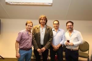 Dr.Olaizola,Dr.Gomez,TécnicoArgencio.Dr.Abelleira
