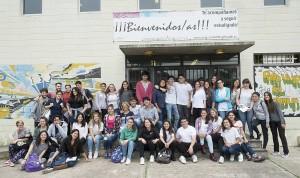 alumnos de sexto año del Liceo IBO