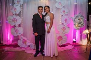 Camila y su hermano Nicolás Alvarez