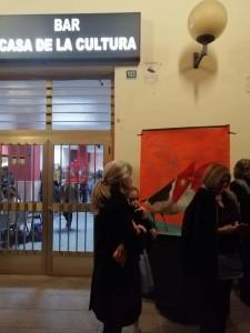 Bar la Casa de la Cultura de los salteños Pedro Antipuy y Loló Goncalvez,