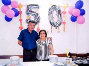 Ernesto Sena Otazo y Nilda Bautista Ortiz